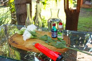 Life is a garden DIY colour bouquet