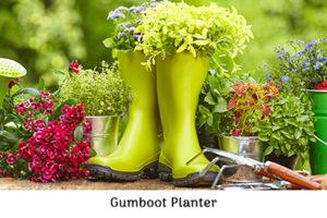 Gumboot Planter