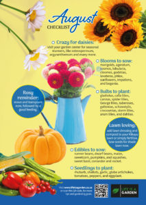August Checklist